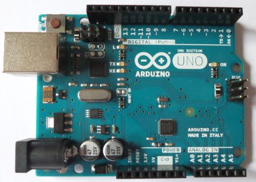 Arduino Uno versione SMD