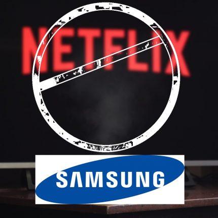 Samsung TV: addio a Netflix