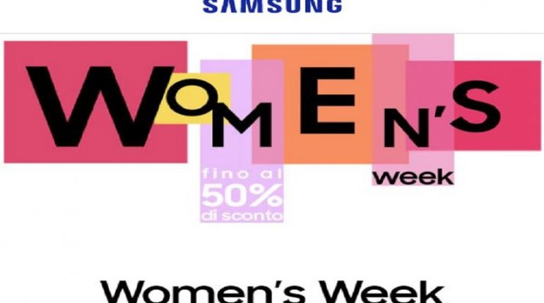 Women's Week di Samsung