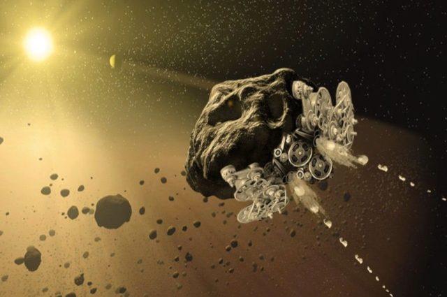 La Nasa scopre un quasi satellite della Terra, l'asteroide 2016 HO3