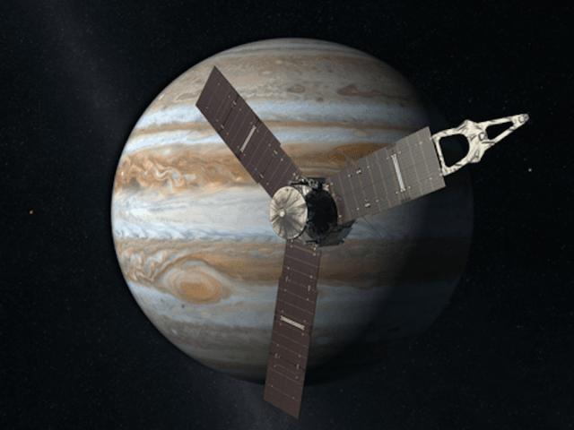 Juno manda le prime immagini di Giove