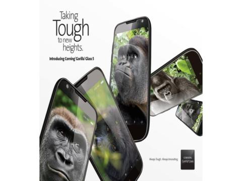 Gorilla Glass 5, Galaxy Note 7 più resistente