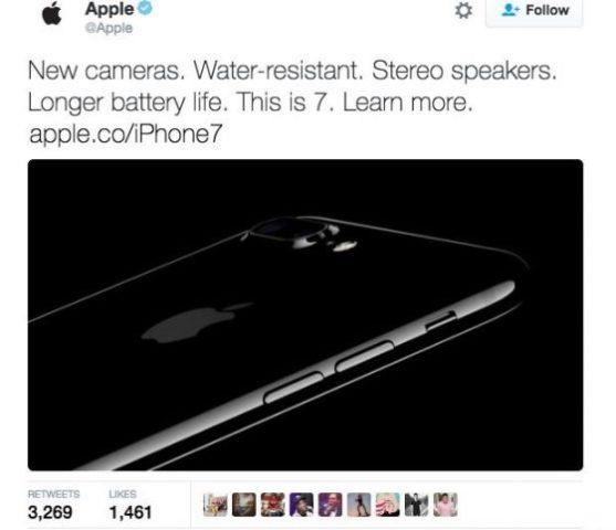 Tweet iPhone 7