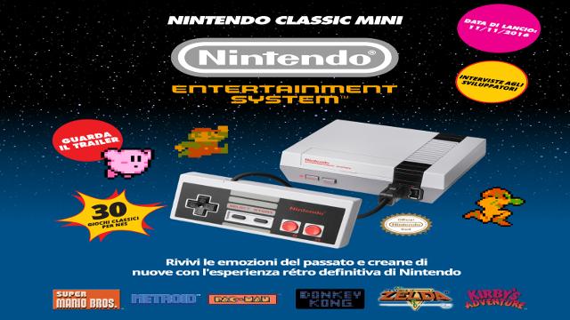 Nintendo Mini NES Classic