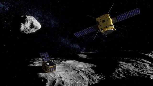 AIM ESA asteroide