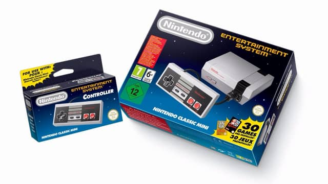 Nintendo Nes Classic mini edition