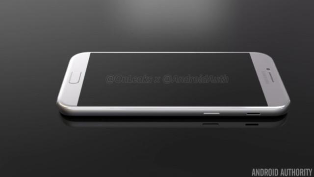 Ecco i nuovi Samsung Galaxy A3, A5 e A7 2017