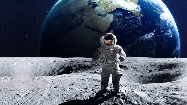 Vivere sulla Luna