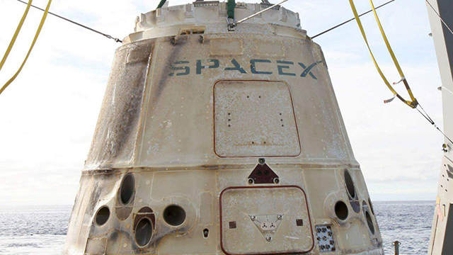 Dragon SpaceX - ISS