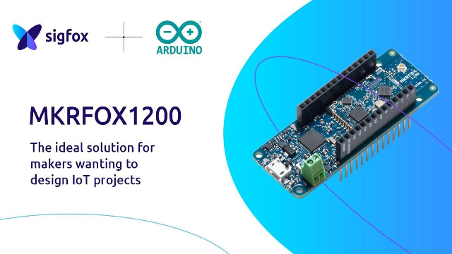 Arduino MKRFOX1200 con tecnologia SigFox