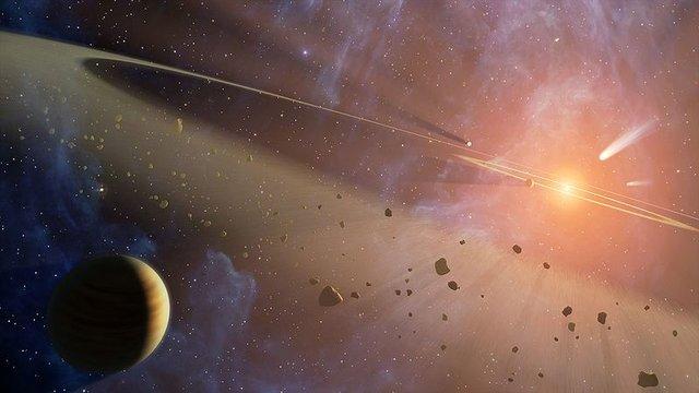Epsilon Eridani, sistema planetario