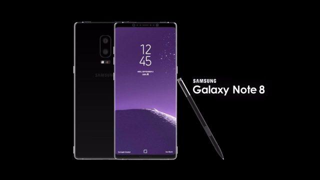 oncept Samsung Galaxy Note 8