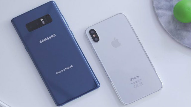 Un video mostra perché iPhone 8 batterà Galaxy Note 8 quest'anno