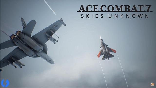 Ace Combat 7 Skies Unknown Milan Games Week 2017