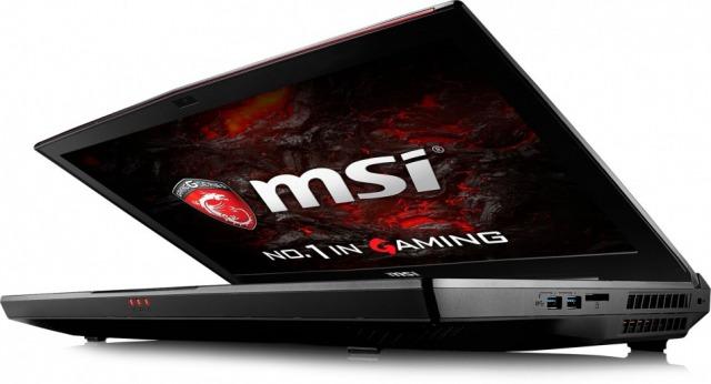 MSI GT75VR Titan GTX 1080