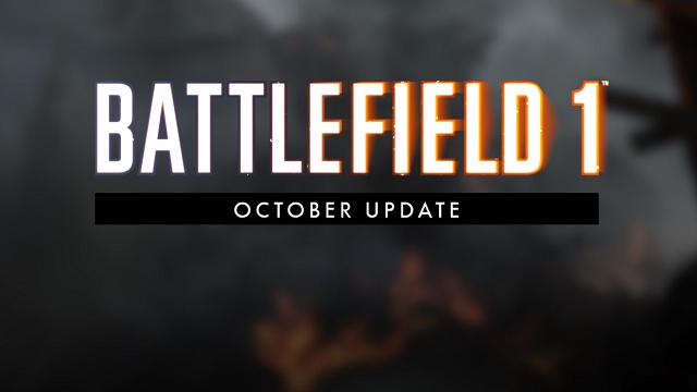 Battlefield 1: tutti i dettagli dell'aggiornamento di ottobre