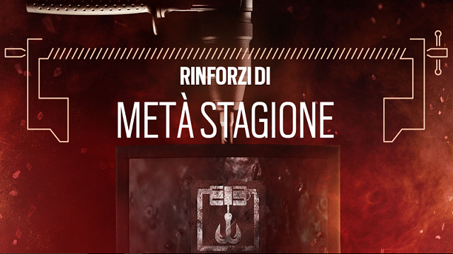 Rainbow six siege: rinforzi di metà stagione Blood Orchid