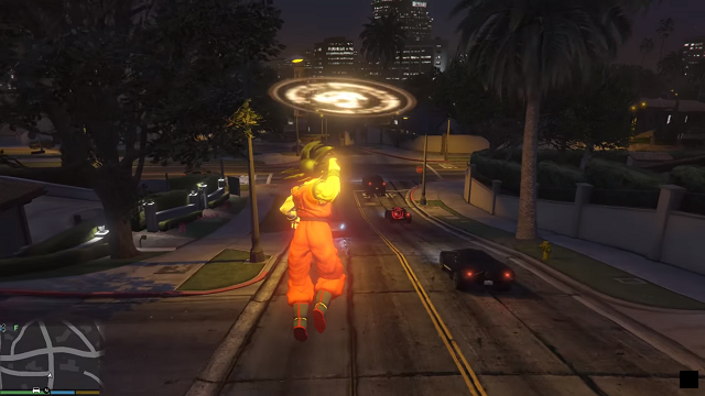 GTA V: disponibile una mod a tema Dragon Ball