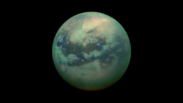 navicella cassini Titano luna saturno