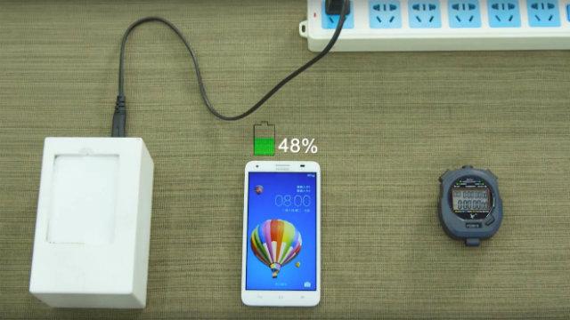 Huawei: in 5 minuti è possibile ricaricare il 48% di batteria di uno smartphone