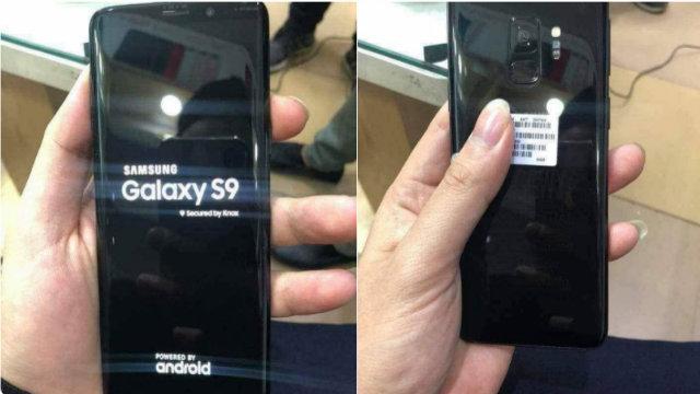 Samsung Galaxy S9 compare per la prima volta in real life
