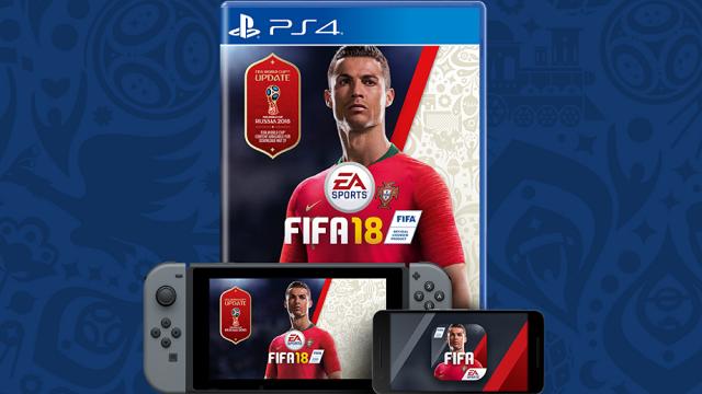 2018 FIFA World Cup Russia: DLC gratis per FIFA 18