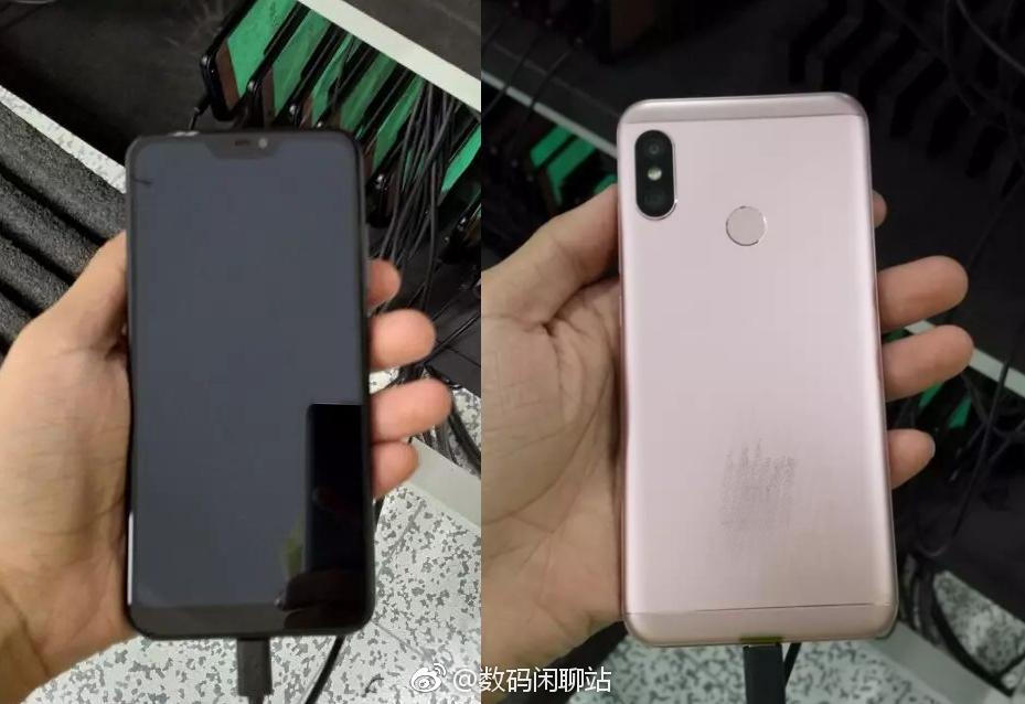 Possibile Xiaomi Redmi Note 6 compare in una foto real life
