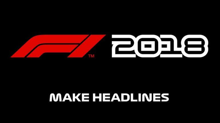 F1 2018 Codemasters