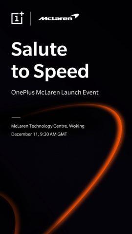 OnePlus e McLaren