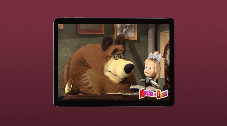 Masha e Orso sui Tablet