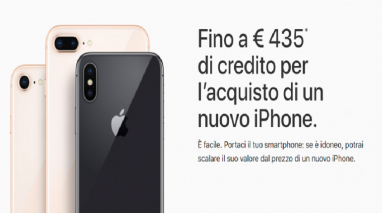 Apple permuta i vecchi iPhone