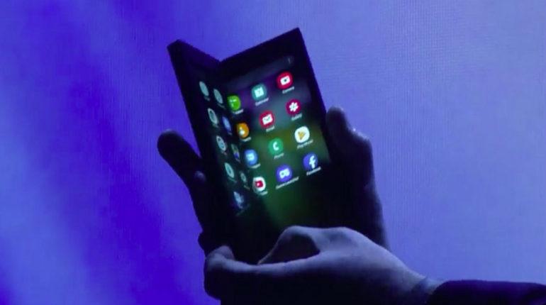Nuovi smartphone pieghevoli della Samsung
