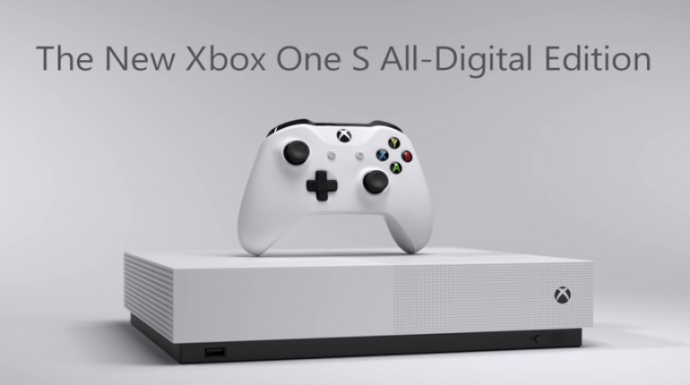 XBOX One S All-Digital Edition: addio ai dischi