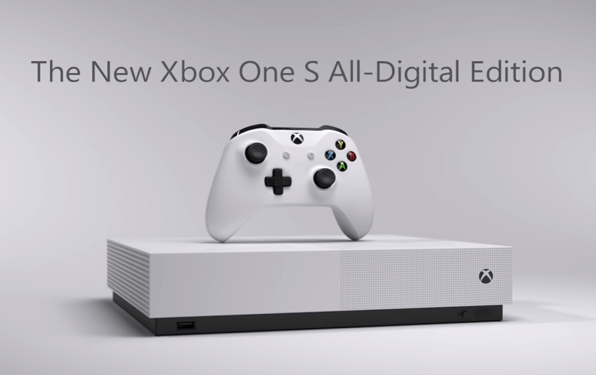 XBOX One S All-Digital Edition: addio ai dischi