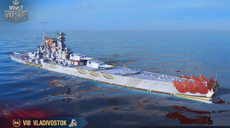 World of Warships corazzate sovietiche