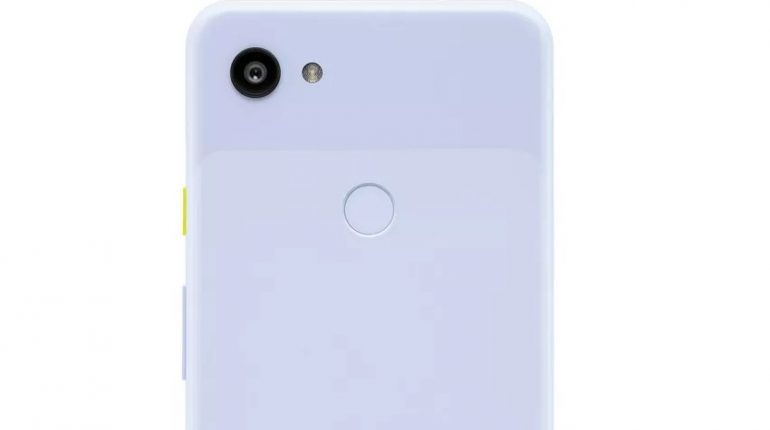 Google Pixel 3a compare in foto leak in colorazione violacea