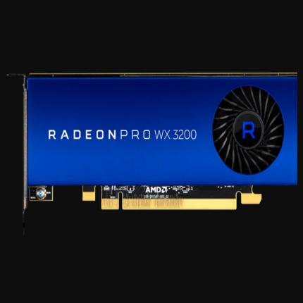 AMD Radeon Pro WX 3200: nuova GPU professionale