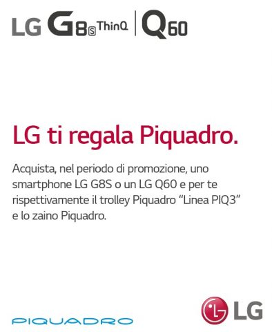 LG TI REGALA PIQUADRO