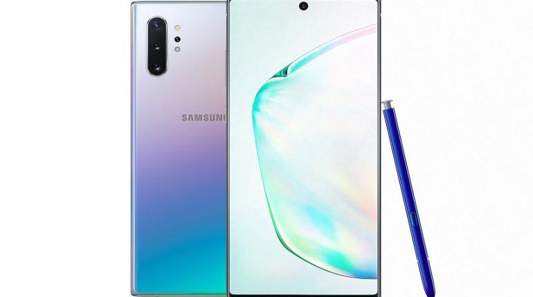Galaxy Note10 e Note10+