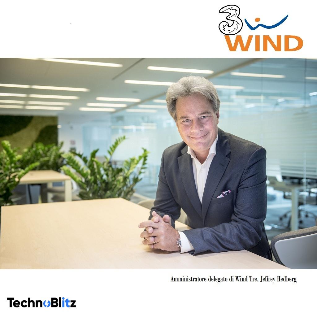 HEDBERG (WIND TRE): lavoriamo insieme