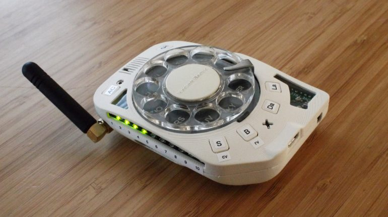 Rotary Cellphone