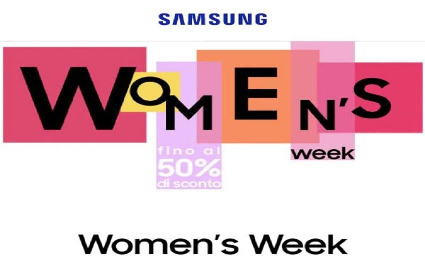 Women's Week di Samsung