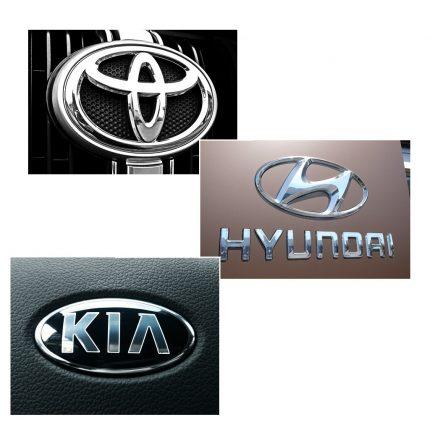 Hyundai Toyota e Kia