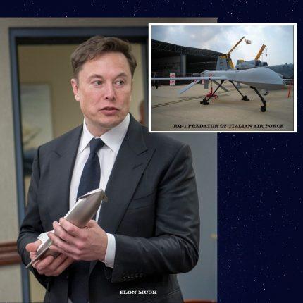 Elon Musk all'Aeronautica