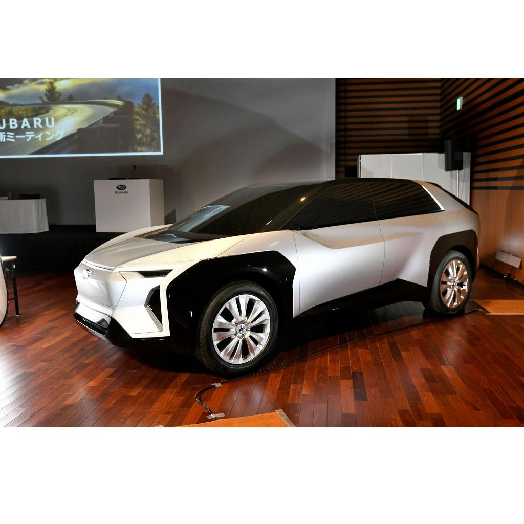 Subaru Evoltis: il SUV elettrico arriva nel 2022